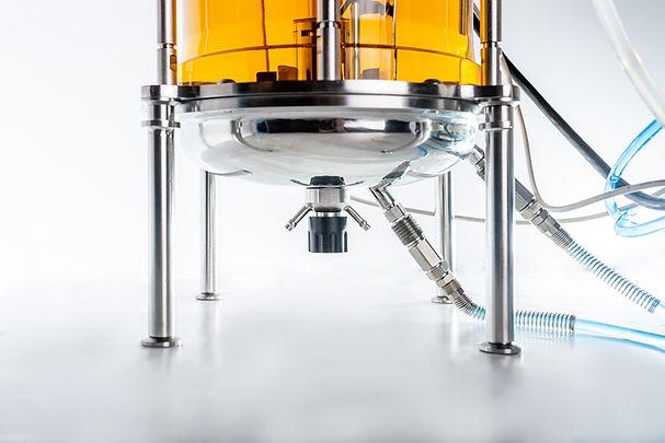 15L bioreactor double bottom