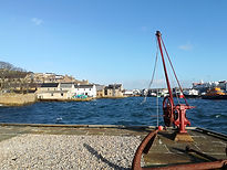 Tall ships in Stromness