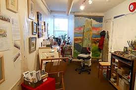 Working artists in Stromness shops