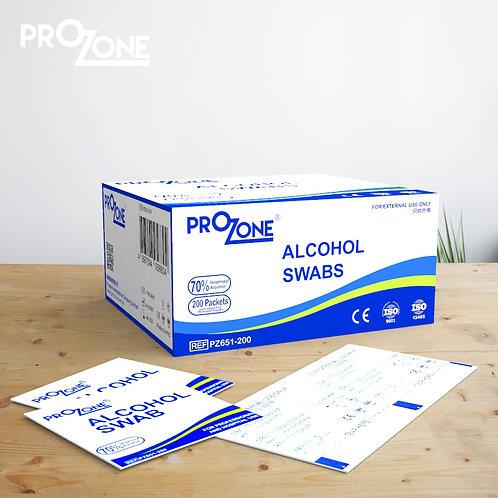Prozone 酒精棉片, 200張