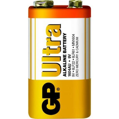 GP特強鹼性電池 9V 收縮裝 10粒