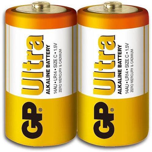 GP特強鹼性電池 C Size 收縮裝 24粒
