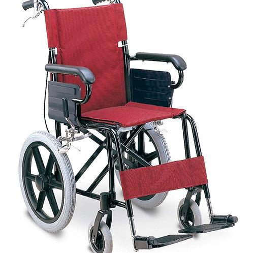 Aluminum Wheelchair 噴塑鋁合金輕車架輪椅