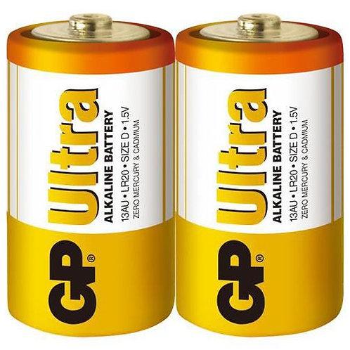 GP特強鹼性電池 D Size 收縮裝 20粒