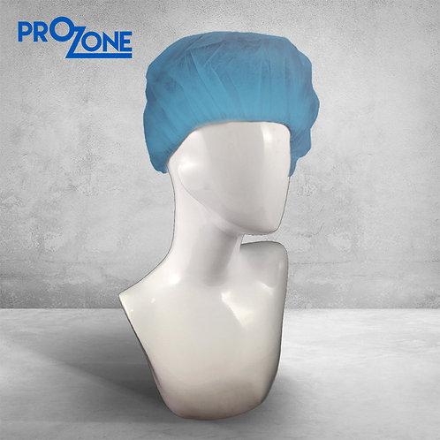 """Prozone一次性無紡布條形帽 - 藍色 (風琴) 18"""", 21"""" ( 100個/包 )"""