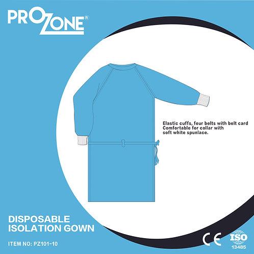 Prozone 一次性無紡布隔離衣 (L,XL)