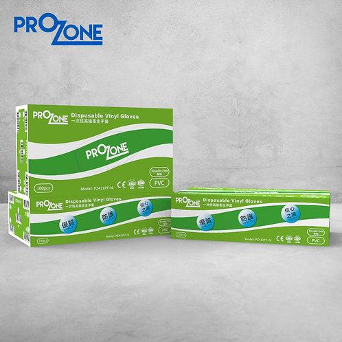 Prozone一次性高級衛生手套 (無粉) (100個)( S,M,L)