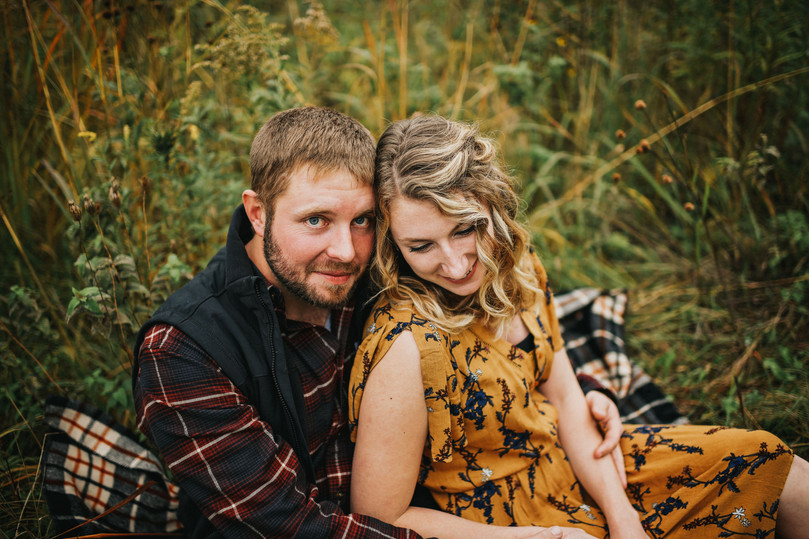 Whitehall Wisconsin Outdoor Unposed Lifestyle Engagement Photographer Rod and Gun Club