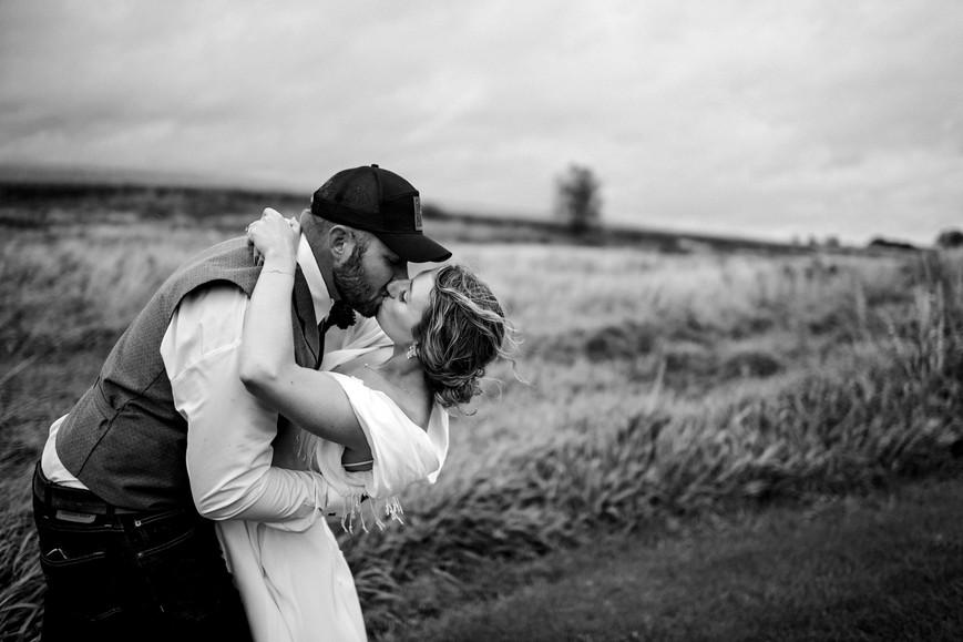 Hixton Wisconsin Outdoor Unposed Lifestyle Wedding Photographer Garden Valley Gatherings
