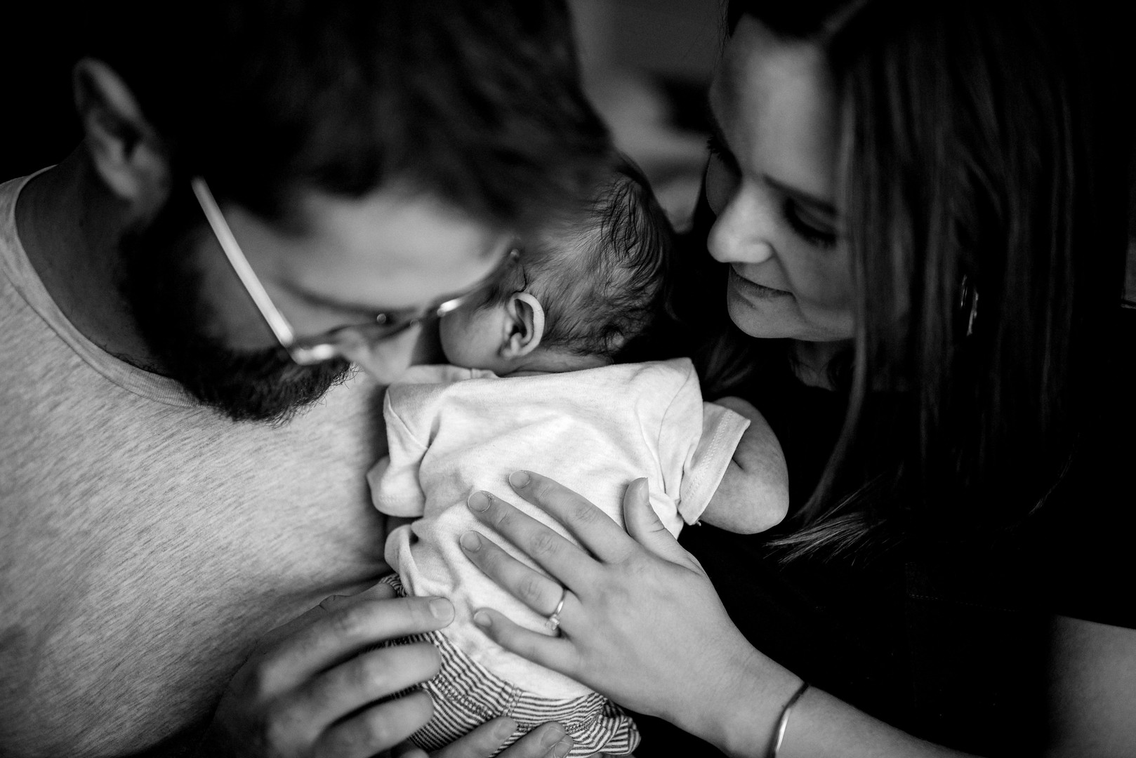 Wisconsin In-Home Unposed Lifestyle Newborn Photographer