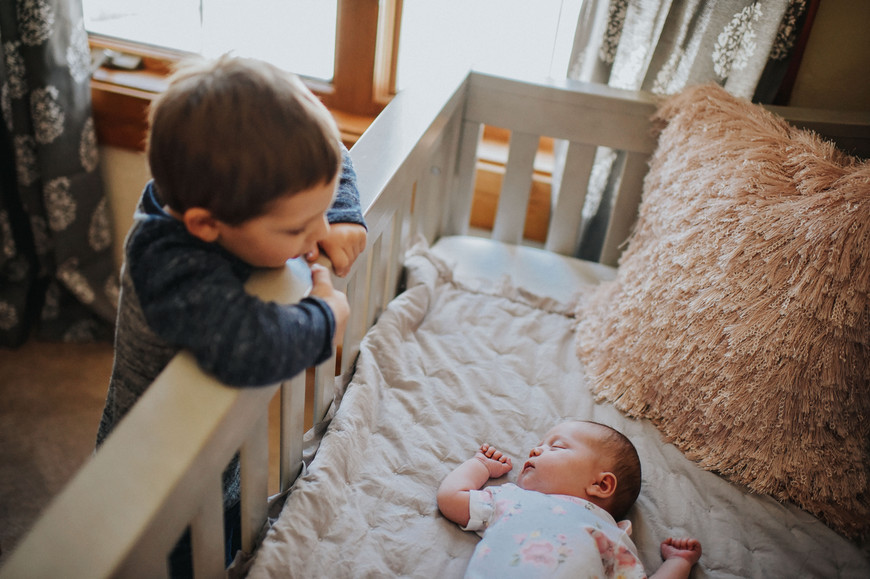 Wisconsin In-Home Unposed Lifestyle Newborn Photographer