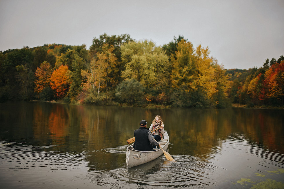 Wisconsin Outdoor Unposed Lifestyle Engagement Photographer Rod and Gun Club