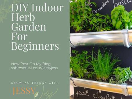 DIY Indoor Herb Garden For Beginners