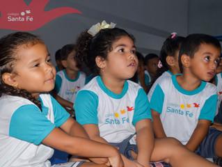 1º dia de Aula da Educação Infantil