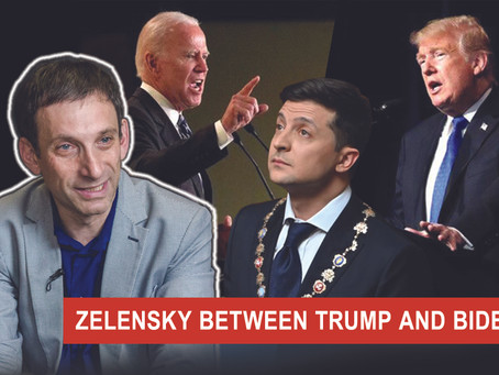ZELENSKY BETWEEN TRUMP AND BIDEN | Vitaliy Portnykov