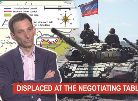 DISPLACED AT THE NEGOTIATING TABLE | Vitaliy Portnykov