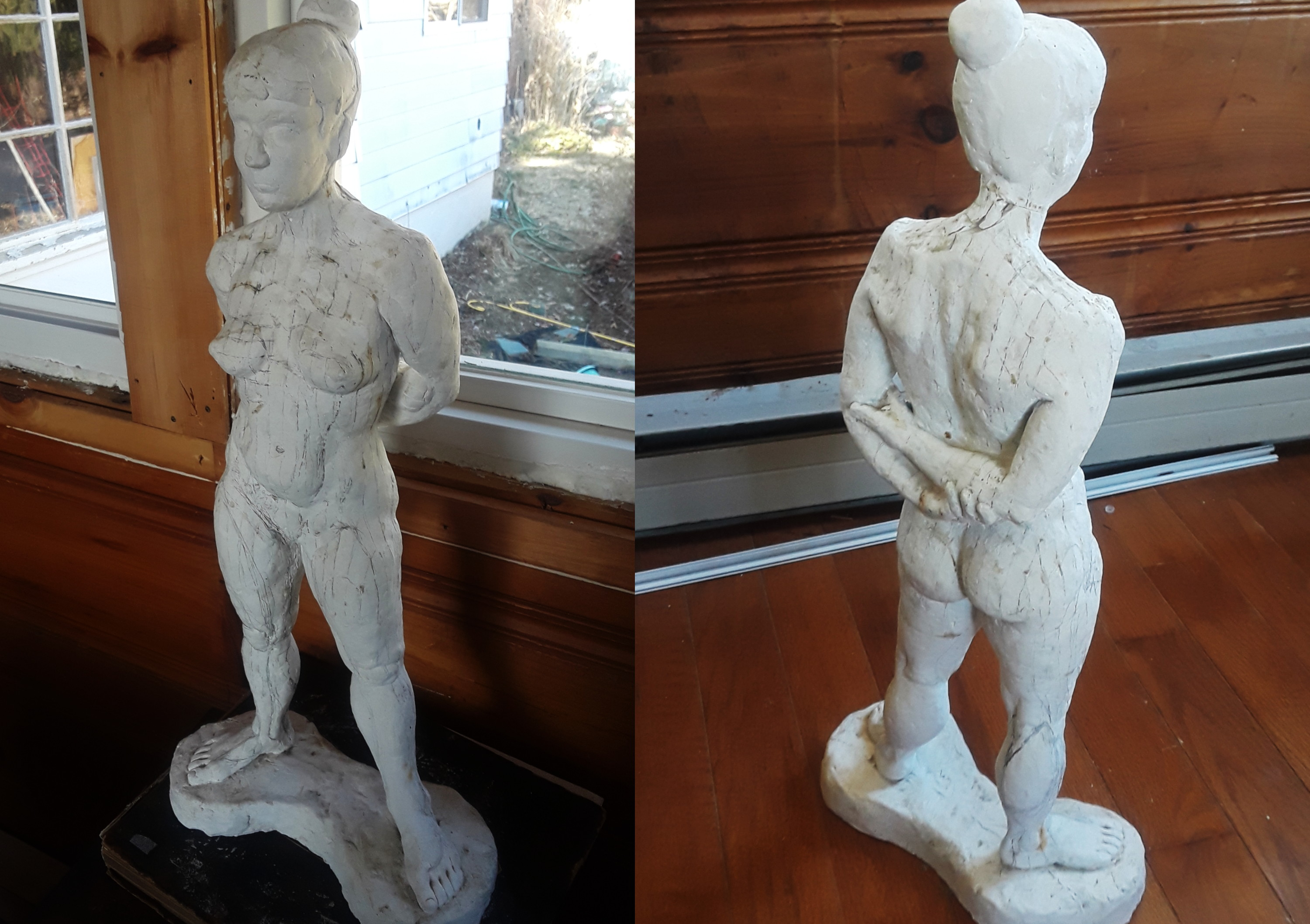 plaster figure sculpture