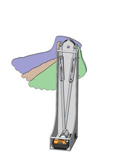 motorized foot display