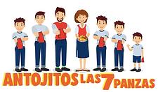 Antojitos Las 7 Panzas logo.png