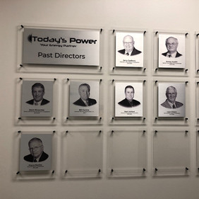 Today's Power Past Directors wall