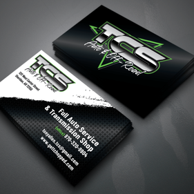 TCS business card