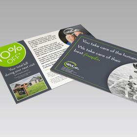 SRVC Healthcare postcard
