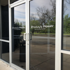 Today's Power door graphics