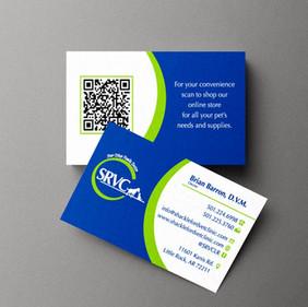 SRVC Barron Business card