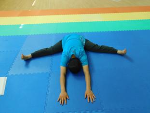 Ugrasan (Intense Stretch Posture) Variat