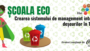 Hai Moldova lansează proiectul Școala ECO