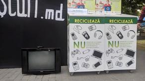 Puncte de colectare a deșeurilor electronice în Moldova