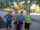 Elevii gimnaziului Vasile Alecsandri, din orașul Mărculești, Florești, și-au primt cișmeaua