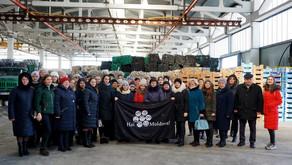 Vizită la stația  de sortare ABS Recycling și training despre problemele de mediu în țară.