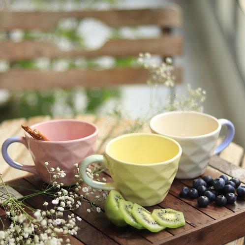 Pastel Yellow Mugs (Set of 2)