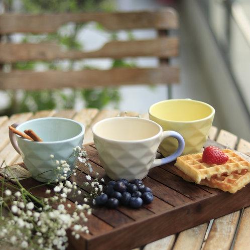Pastel Beige Mugs (Set of 2)