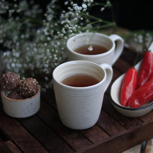 White Small Mug (Set of 2)