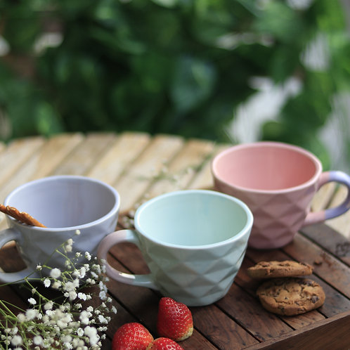 Pastel Blue Mugs (Set of 2)