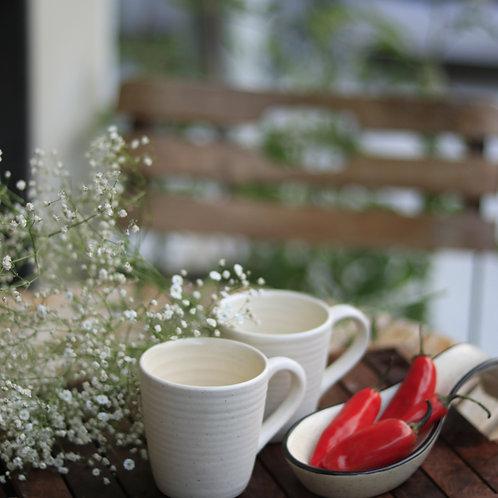 White Small Mug (Set of 6)
