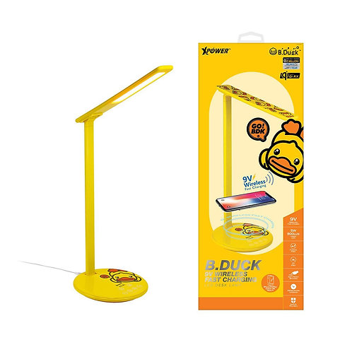 Xpower - B.Duck WDL 9V快充無線充電LED檯燈