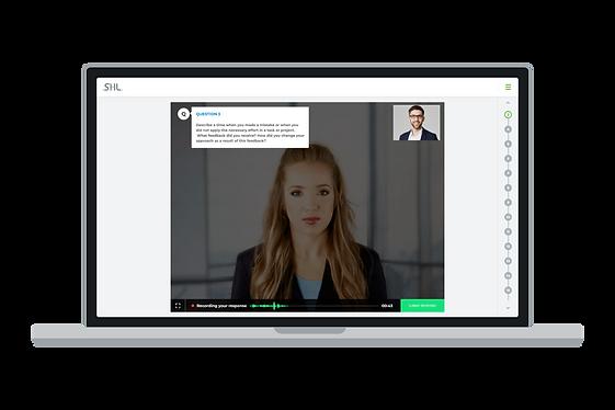 SHL Smart interview on demand screenshot