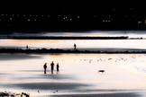 Dusk, Colwyn Bay beach
