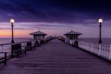 Llandudno Pier at dusk
