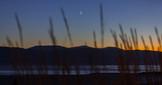 Evening descends