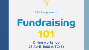 ZB.Clinic series: Fundraising 101
