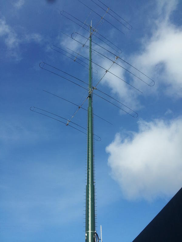 SuperBertha Big Bertha World's Strongest Antenna Tower WA6DXA