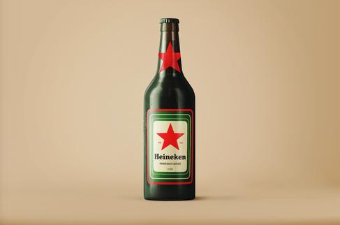 Heineken Label Design