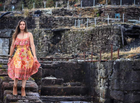 Bright & Fluttery Floral Midi Dress - Siren Song - Spell And The Gypsy Collective