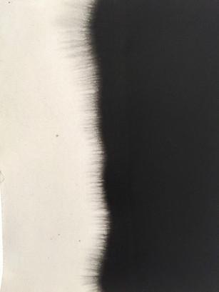 Zeichnung auf Büttenpapier Tusche 27.5cm x 20cm  2020