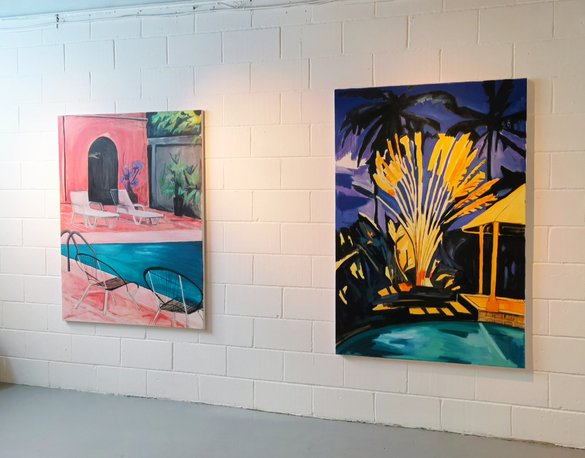 Wish you were here- Solo Show at Fiumano Clase 15th September-15th October