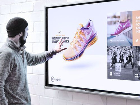 Touch interactivity is the future for retail